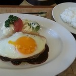 Grill TENPEI - ハンバーグステーキ 税込1,728円