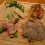 ワザ - 前菜4種