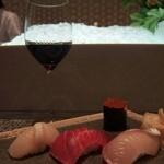 ゼックスウエスト 炙り焼き&寿司 アン - 留の寿司