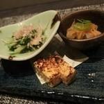 ゼックスウエスト 炙り焼き&寿司 アン - 先付