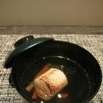 ゼックスウエスト 炙り焼き&寿司 アン - 腕物「焼鱈巻き魚真蒸」