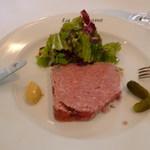 ラ ベルベーヌ - 前菜レバーペースト