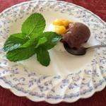 29134797 - チョコレートと印度アイスクリーム
