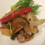 HOZON - 青椒肉絲風  ご飯もお酒も進む美味しいお肉料理です