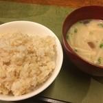 HOZON - お米とお味噌にもこだわってます