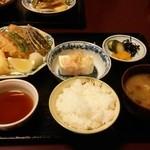 さる田 - 天ぷら定食