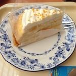ドトールコーヒーショップ - マンゴーミルククレープ