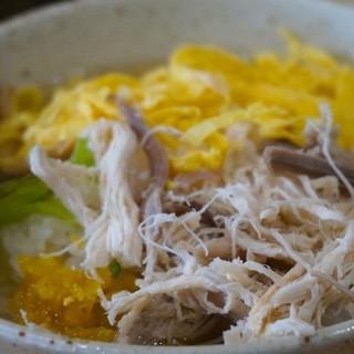 みなとや - 料理写真:1000えん『鶏飯』2014.7
