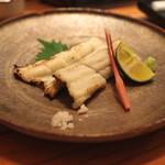 め乃惣 - 穴子の白焼き (2014/07)