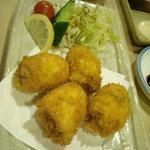 市力寿司 - カキフライ