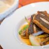 ルレ・サクラ - 料理写真:キビレのポワレ【2014年6月】
