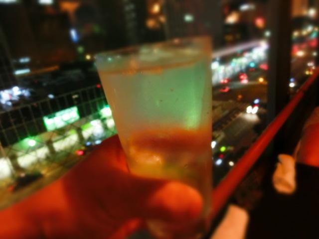 バーアルディ - 国道2号を見下ろしながら飲む酒は美味しい~~
