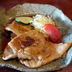 ヒュッテ - 豚生姜焼き 2014年7月