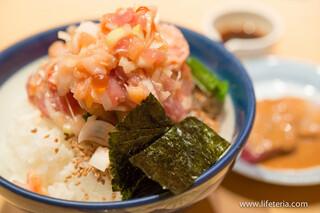 日本橋海鮮丼 つじ半 - ぜいたく丼 竹【2014年6月】