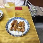 大松 - カシラ辛味噌 \400
