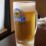 お食事処 あさひ - ASAHIだけど生ビールはKIRIN^^