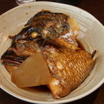 お食事処 あさひ - 鯛のかぶと煮