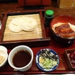 29150340 - 稲庭うどんとミニ鰻丼