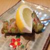 赤ひょうたん - 料理写真:140721 アスパラ巻