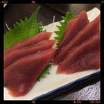 魚ふじ - マグロ刺身 480円