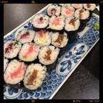 魚ふじ - 細巻き3種