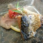 ペッパーミル - 秋刀魚と鰯のスモーク