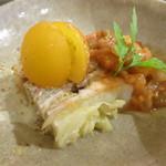 ペッパーミル - 豚と白菜のミルフィーユ ラタトゥーユ添え