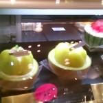 プランタン ブラン - メロンのケーキ