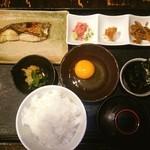 魚や 六蔵 - 漁火(焼き魚の定食)