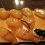 すし処銀八 - 島寿司