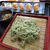繁 - 料理写真:明日葉蕎麦