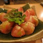 8 - トマトの味噌漬け