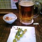 2916113 - 男前ビール と ギンナン串揚げ