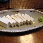 29162244 - 白山堅豆腐刺身