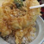 福天丼 - カボチャ