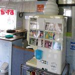 おやきの平中 - 自分で作るソフトクリーム機