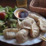 中国茶会 無茶空茶館 - ホクホクの水餃子