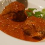 スパニッシュ レストラン チャバダ - 羊のトマト煮込み
