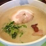 拳10ラーメン - 拳10ラーメンの豚ドロつけ麺のつけ汁(14.03)