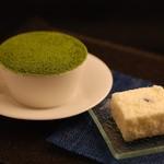 ザ ホワイト フォックス - デザート・・・抹茶のパルフェとホワイトチョコ