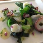 ザ ホワイト フォックス - ミズタコと海藻サラダ \1,200