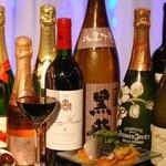 ザ ホワイト フォックス - ワインも日本酒もカクテルもご用意しています。