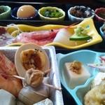 けむりたなびく民宿 はし本 - 料理写真: