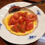 りゃん亭 - トマトのオムレツ