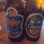 THAI CAFE KATI - シンガのタイガービールも好き♪