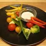 29171680 - 彩り野菜のバーニャカウダ~オリジナルソース~