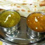 インド料理 ガンディ2 - キーマほうれん草&シーフード