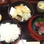 海鮮居酒屋 芦刈 - ひょうたん弁当(1080円)