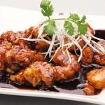 石庫門 - 特製黒酢の酢豚