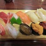 竹寿司 - 生鶴(2100円)_2014-07-08